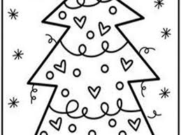 Abstract xmas tree and glowing floral. Free Easy To Print Christmas Tree Coloring Pages Tulamama