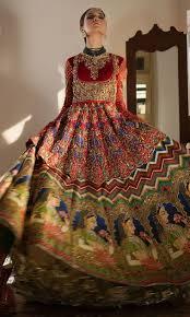 Lehenga Design 2018 Pakistani Bright Red Pakistani Bridal Lehnga Mughal E Azam By Nomi