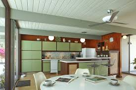 full image for mid century modern kitchen lighting target table metal cabinets