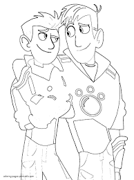 Wild Kratts Coloring Pages Plasticultureorg
