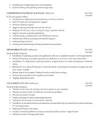 desktop resume resume desktop support engineer
