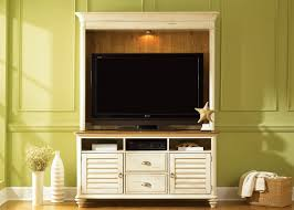 white tv entertainment center. Ocean Isle 55-Inch TV Entertainment Center In Bisque With Natural Pine Finish By Liberty Furniture White Tv