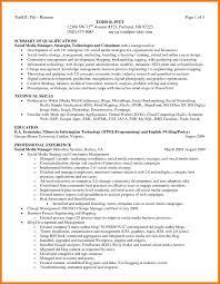 7 Summary Of Skills Resume Mbta Online