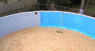 swimming pool liner solutions above water pools llc ground pad