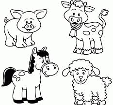 Lovely Animal Farm Coloring Pages Ishagnet