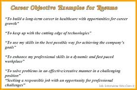 Retail Job Resume Objective Sample Examples Of Career For Example