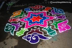 The pulli (vecha ) kolam details are shown through intermediate steps for learning and reference. New Pulli Kolam Designs With Dots Hamil