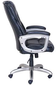 serta big and tall commercial office chair with memory foam black up