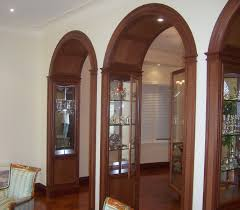 Trim For Cabinets Custom Made Archway Trim And Cabinets By Davids Woodworking