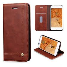 iphone 8 case iphone 7 wallet case flyee slim folio book cover pu leather magnetic protective cover with credit card slots cash pocket stand holder for