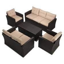 storage wicker patio furniture