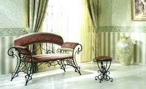 wrought iron indoor furniture. Wrought Iron Furniture Indoor Chairs And Benches Modern Interior . O