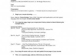 Download Formatting Resume Haadyaooverbayresort Com