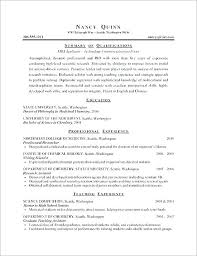 Example Of Format Of Resume Sample Format For Chronological Latest ...