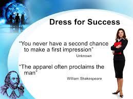 dress for success dress