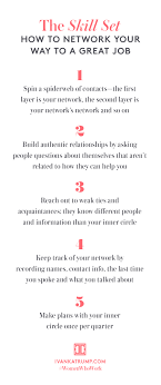 how to network and land a new job tips for you get