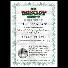 Certificate Of Appreciate Life Membership