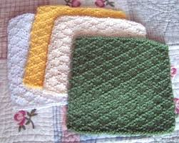 Easy Knit Dishcloth Pattern Gorgeous Learn A New Stitch With 48 Easy Knitted Dishcloth Patterns Stitch