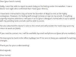 Doctors Note For A Cold How To Write A Sick Day Email With Samples