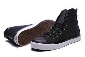 converse black leather high tops shoes new arrival atlanta multiple colors atlanta