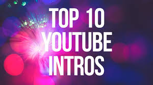 Intro Maker Youtube Intro Designer Youtube Intro