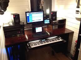 my build a home studio recording desk result workstation