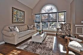 Homey Home Taupe Living Room