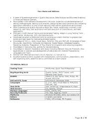 Senior Resume Examples Software Analyst Resume Examples Sample