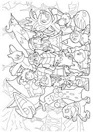 Broch Pokemon Coloring Page Desenhos Para Colorir Do Pokémon 45