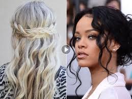 Image Coiffure Simple Cheveux Frisés Mi Long Coupe De