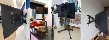 tv bracket singapore tv wall mount