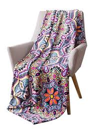 Bright Colored Throw Blankets