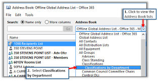 Distribution List Department Information Technology Uwsp