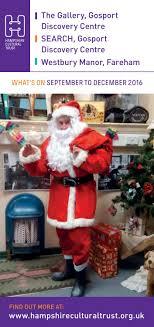 Gosport Christmas Lights 2016 Gosport And Fareham Museums Whats On September December
