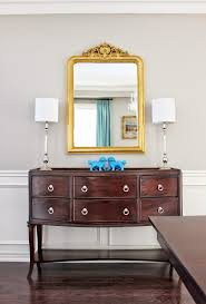 Dining room sideboard, Louis Philippe gilt mirror, French gold ...