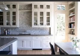 Backsplash Kitchen Design Tile Wall Marble Kitchen Grey Tile And White  Kitchen Cabinets And