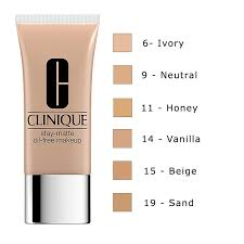 clinique 39 s stay matte oil free makeup foundation for someone with such acne e skin