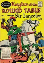 pines comics s knights of the round table issue 10