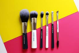 blue makeup brush set. so is this six-piece p770 brush set any good? blue makeup b