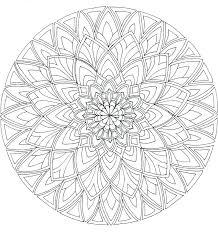 Flower Mandala Coloring Pages Vector Illustration Flower Mandala