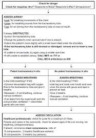 Chart Checks Nursing Clinical Guidelines Nursing Tracheostomy Management
