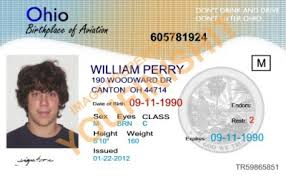 Ohio Ohio Id Od Card Id