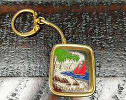 Vintage sankyo greek roman style musical keychain 'theme from love story' japan vintage sankyo enamel hawaii music box keychain works vintage sankyo musical key chain with box! Music Box Keychain Etsy