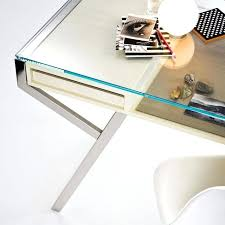 glass desk with drawers best glass desks images on glass desk glass office for glass white glass desk with drawers