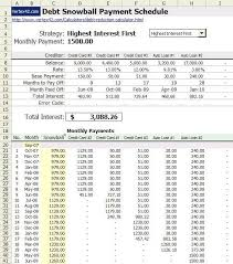 debt reduction calculator snowball use snowball method spreadsheet to pay off debts consumerist