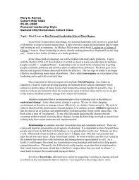 my leadership style essay  analysis essay my personal leadership style commerce essay