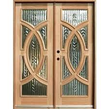 solid wood front doors with glass solid wood front doors no glass