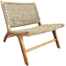 london seagrass teak chair teak