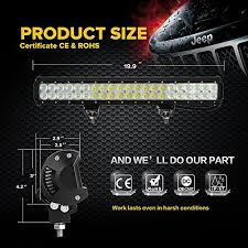 auxbeam® 20″ 126w led light bar 8820lm~12600lm cree combo beams auxbeam 20 126w led light bar 8820lm12600lm cree