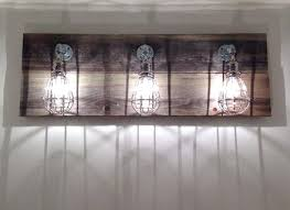 industrial style bathroom lighting. Vanities: Industrial Style Bathroom Lighting Light For The Home Pinterest Cage Vanity T